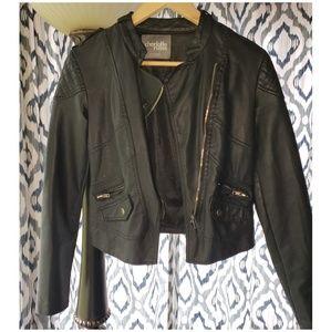 Moto leather jacket